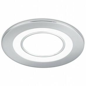 LED Spot - Inbouwspot - Trion Cynomi - 5W - Warm Wit 3000K - Rond - Mat Chroom - Kunststof - Ø80mm