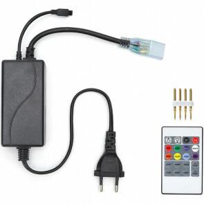 LED Strip Afstandsbediening Set 600W - RGB - Dimbaar - 230V