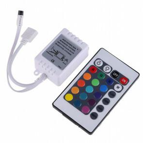 LED Strip Afstandsbediening Set - RGB - 72W - 12V - 2A