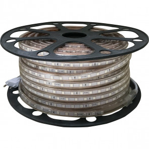 LED Strip RGB - 50 Meter - Dimbaar - IP65 Waterdicht 5050 SMD 230V