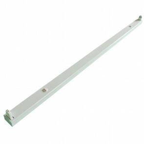 LED TL Armatuur T8 - Aigi Dybolo - 150cm Enkel - Waterdicht IP20 - Mat Wit - Staal