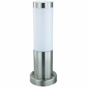 LED Tuinverlichting - Buitenlamp - Laurea 3 - Staand - RVS - E27 - Rond