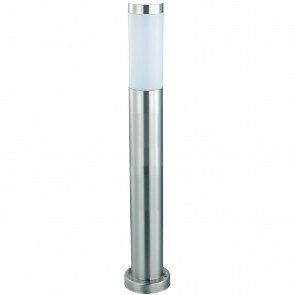 LED Tuinverlichting - Buitenlamp - Laurea 5 - Staand - RVS - E27 - Rond