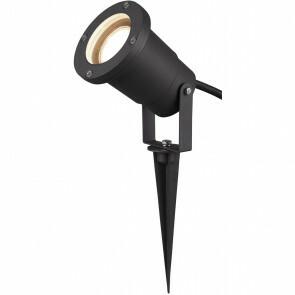 LED Tuinverlichting - Vloerlamp - Trion Ubani - Staand - GU10 Fitting - Mat Zwart - Aluminium