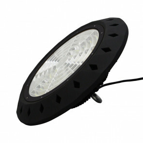 LED UFO High Bay 100W - Aigi - Magazijnverlichting - Waterdicht IP65 - Natuurlijk Wit 4000K - Aluminium