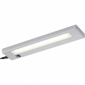 LED Wandlamp - Trion Alyna - 4W - Warm Wit 3000K - Rechthoek - Mat Titaan