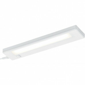 LED Wandlamp - Trion Alyna - 4W - Warm Wit 3000K - Rechthoek - Mat Wit