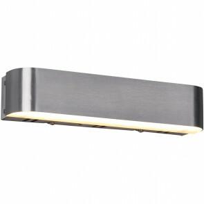 LED Wandlamp WiZ - Trion Idrion - 5W - Aanpasbare Kleur - RGBW - Rechthoek - Mat Nikkel - Aluminium