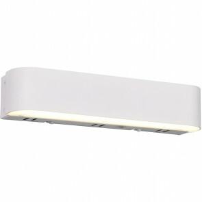 LED Wandlamp WiZ - Trion Idrion - 5W - Aanpasbare Kleur - RGBW - Rechthoek - Mat Wit - Aluminium
