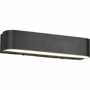 LED Wandlamp WiZ - Trion Idrion - 5W - Aanpasbare Kleur - RGBW - Rechthoek - Mat Zwart - Aluminium