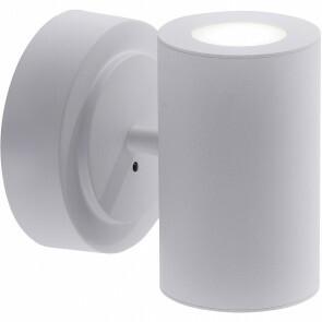 LED Wandlamp WiZ - Trion Sanca - 6W - Aanpasbare Kleur - 2-lichts - Rechthoek - Mat Wit - Aluminium