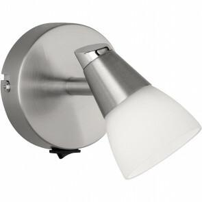LED Wandspot - Wandverlichting - Trion Hilda - G9 Fitting - 1-lichts - Rond - Mat Nikkel - Aluminium