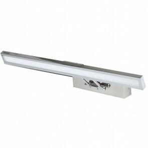 LED Spiegelverlichting - Schilderijverlichting - Trion Codrado - 8W - Warm Wit 3000K - Mat Nikkel - Aluminium