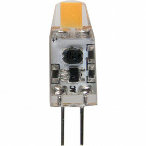 MEGAMAN - LED Lamp - Storm - G4 Fitting - 1.2W - Warm Wit 2800K   Vervangt 10W