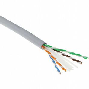 Netwerkkabel - Cat6 UTP - 305 Meter - Stugge Kern - Koper - Grijs
