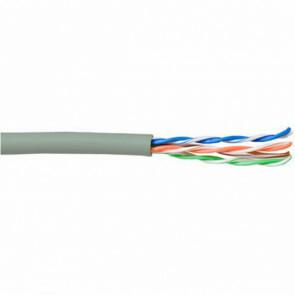 Netwerkkabel - Viron AWG24 - Cat5E UTP - 305 Meter - Stugge Kern - Koper - Grijs
