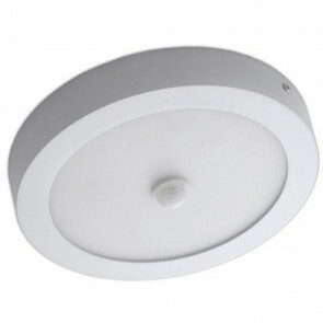 OSRAM - LED Downlight - Facto - PIR Bewegingssensor 360° - 20W - UGR19 - Aanpasbare Kleur CCT - Opbouw Rond - Mat Wit - Aluminium