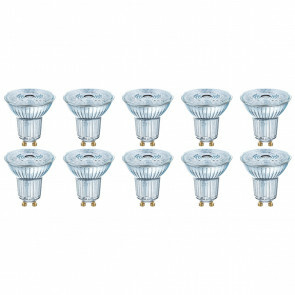 OSRAM - LED Spot 10 Pack - Parathom PAR16 930 36D - GU10 Fitting - Dimbaar - 3.7W - Warm Wit 3000K | Vervangt 35W
