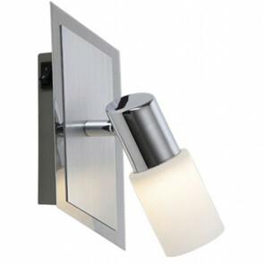 OSRAM - LED Wandspot - Trion Clupo - 4W - Warm Wit 3000K - 1-lichts - Rechthoek - Mat Chroom - Aluminium