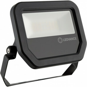 OSRAM - LEDVANCE - LED Breedstraler 20 Watt - LED Schijnwerper - FL PFM SYM 100 BK - Natuurlijk Wit 4000K - Mat Zwart - Aluminium