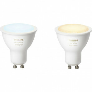 PHILIPS HUE - LED Spot GU10 - White Ambiance - Bluetooth - Duo Pack