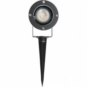 Prikspot met Stekker - Sanola Urbun - GU10 Fitting - Zwart - Aluminium