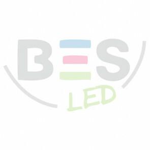 LED Noodverlichting op Batterijen - Viron Verpo - 3W - Helder/Koud Wit 6400K - Opbouw - Mat Wit - Kunststof - 12 Uur Oplaadtijd