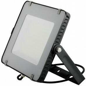 SAMSUNG - LED Bouwlamp 150 Watt - LED Schijnwerper - Viron Linan - Natuurlijk Wit 4000K - Waterdicht IP65 - Mat Zwart - Aluminium