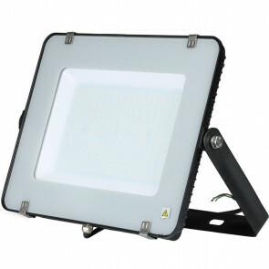 SAMSUNG - LED Bouwlamp 200 Watt - LED Schijnwerper - Viron Hisal - Helder/Koud Wit 6400K - Waterdicht IP65 - Mat Zwart - Aluminium