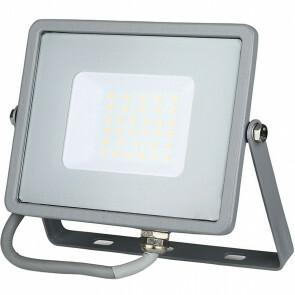 SAMSUNG - LED Bouwlamp 30 Watt - LED Schijnwerper - Viron Dana - Helder/Koud Wit 6400K - Mat Grijs - Aluminium