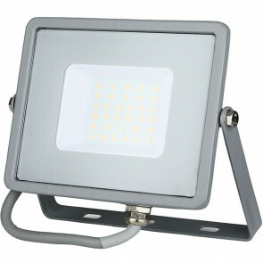 SAMSUNG - LED Bouwlamp 30 Watt - LED Schijnwerper - Viron Dana - Natuurlijk Wit 4000K - Mat Grijs - Aluminium