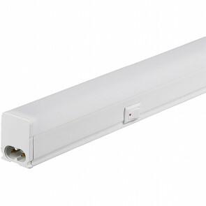 LED TL Armatuur met T5 Buis - Aigi Timola - 30cm Enkel - 4W - Warm Wit 3000K - Mat Wit - Kunststof