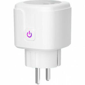 CALEX - Slimme Stekker - Smart Plug - Wifi - Vierkant - Mat Wit