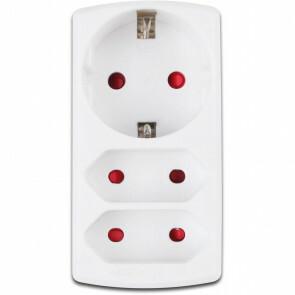 Slimme Stekker - Trion WiZ Connect - Smart Plug - Mat Wit