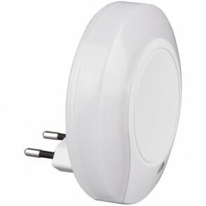 Stekkerlamp Lamp - Stekkerspot - Trion Jiko - 4W - Warm Wit 3000K - Rond - Mat Wit - Kunststof