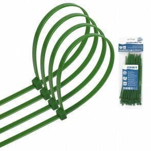 Tie Wraps - Tyrap - Aigi Tie - 3.6x150mm - Groen - 40 Stuks