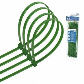 Tie Wraps - Tyrap - Aigi Tie - 3.6x200mm - Groen - 40 Stuks