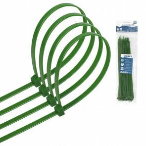 Tie Wraps - Tyrap - Aigi Tie - 4.8x250mm - Groen - 30 Stuks