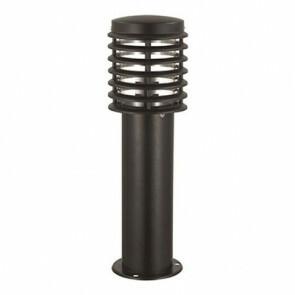 Tuinverlichting / Buitenverlichting / Buitenlamp / Vloerlamp / Staande Lamp Rond Mat Zwart 50x15cm Modern RVS/PC E27 IP44