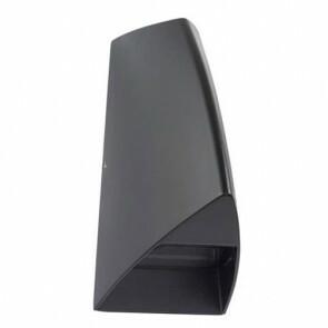Tuinverlichting / Buitenverlichting / Buitenlamp / Wandlamp Ovaal Mat Zwart 3.5W 4100K Natuurlijk Wit 8.4x17cm Modern Aluminium/Kunststof IP44