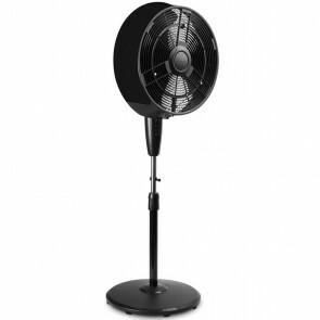 Ventilator - Trion Briskon - Torenventilator - Afstandsbediening - Timer - Staand - Rond - Mat Wit - Kunststof